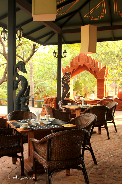 Amazing Bagan Resort Myanmar Buffet Breakfast