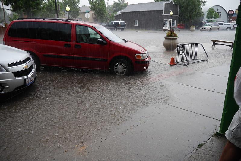 Crazy Rain in Buena Vista