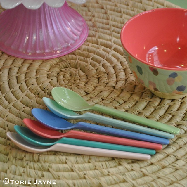 Melamine spoons from Rice DK