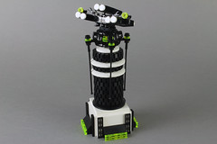 Missile defense tower