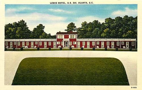 Lewis Motel Olanta front