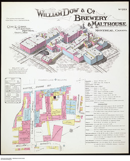 William Dow & Co. Brewery & Malthouse, Montréal, Canada, December 1903 / Brasserie et Malterie William Dow & Co., Montréal, Canada, décembre 1903