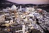 Santorini espera la noche