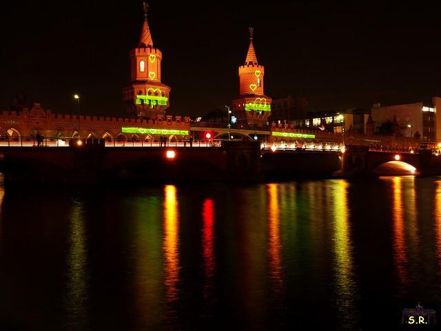 Festival of Lights Oberbaumbrücke 2015  51