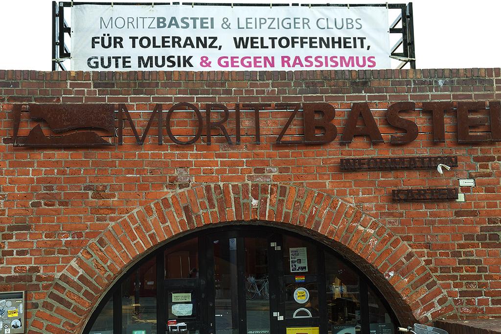 FUR TOLERANZ, WELTOFFENHEIT--Leipzig