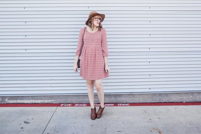smock dress felt hat10