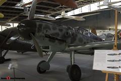 Red 3 - 163306 - Luftwaffe - Messerschmitt Bf109 G-6 - Polish Aviation Musuem - Krakow, Poland - 151010 - Steven Gray - IMG_9982
