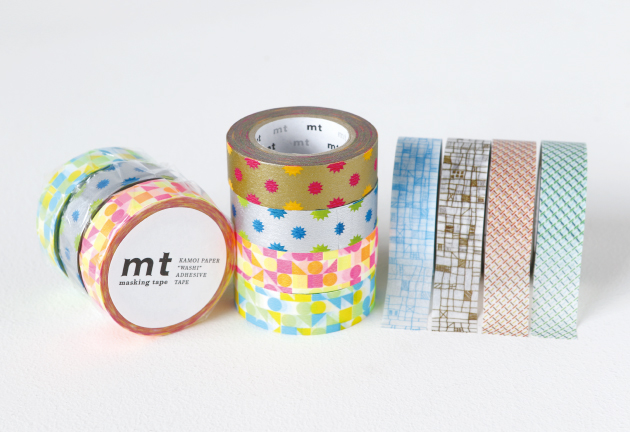 mt deco washi tapes
