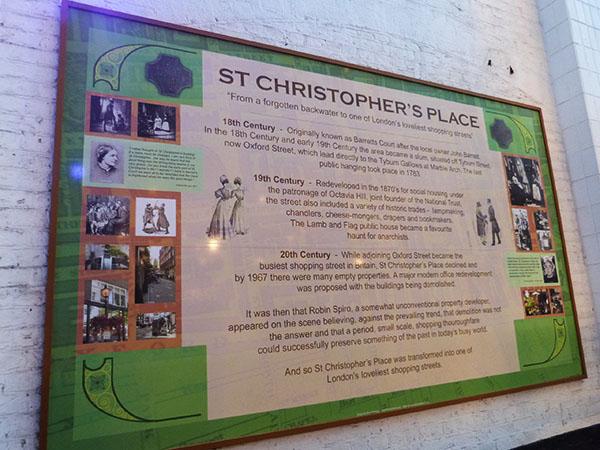 histoire de saint christopher's place