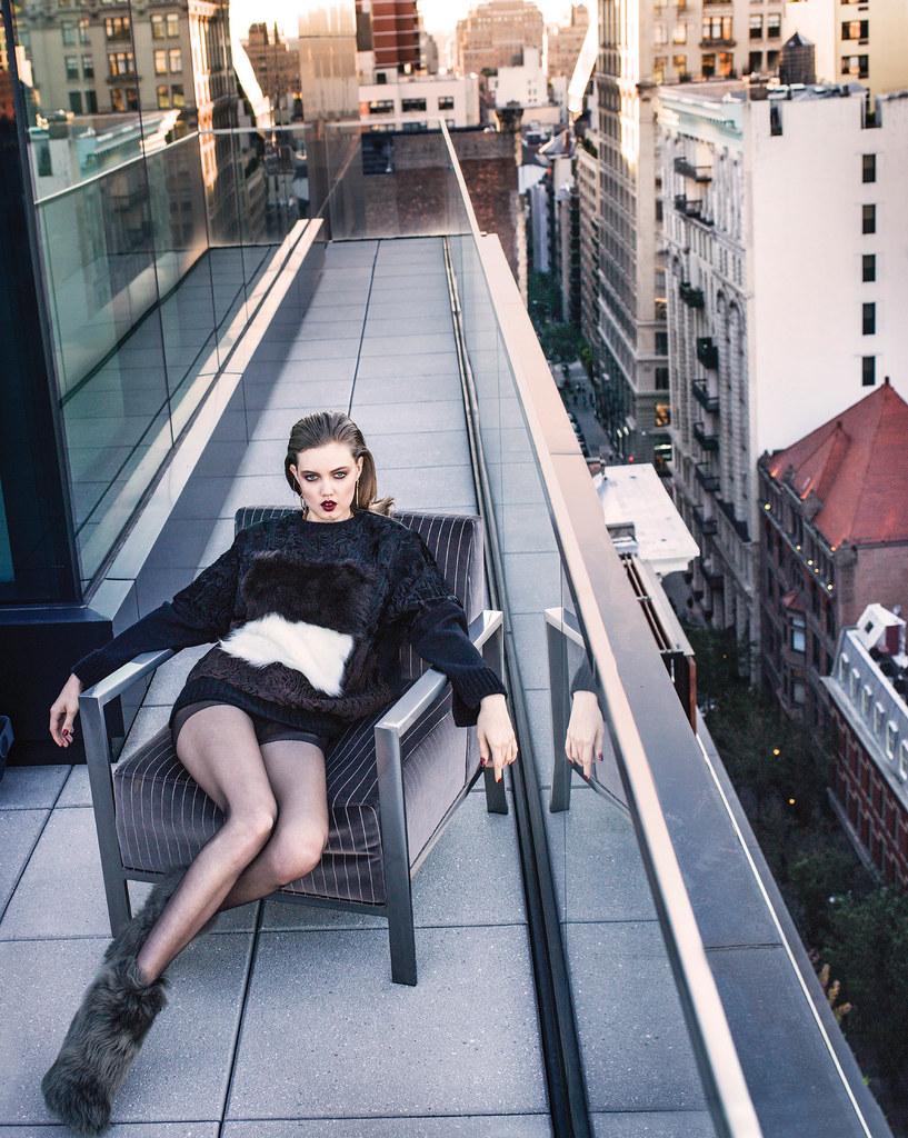 Линдси Виксон — Фотосессия для «Vogue» KR 2015 – 8