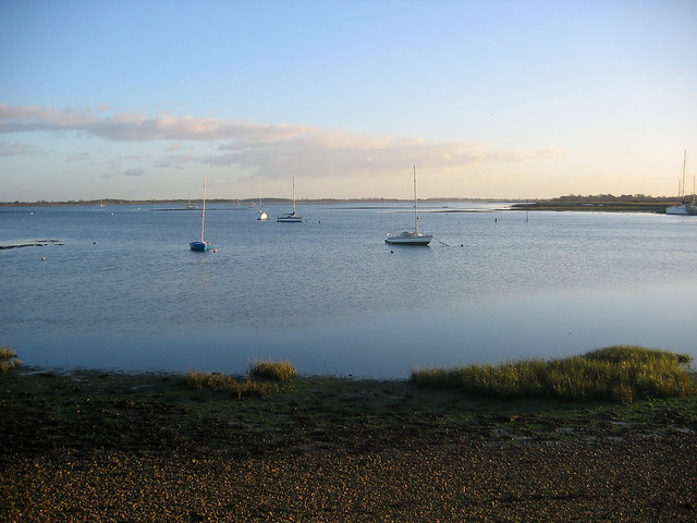 Chichester harbour at Prinstead