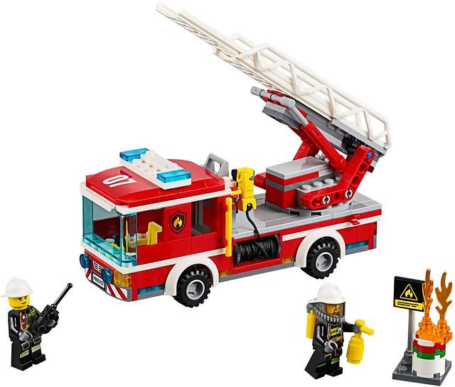 LEGO City 60107 - Fire Ladder Truck