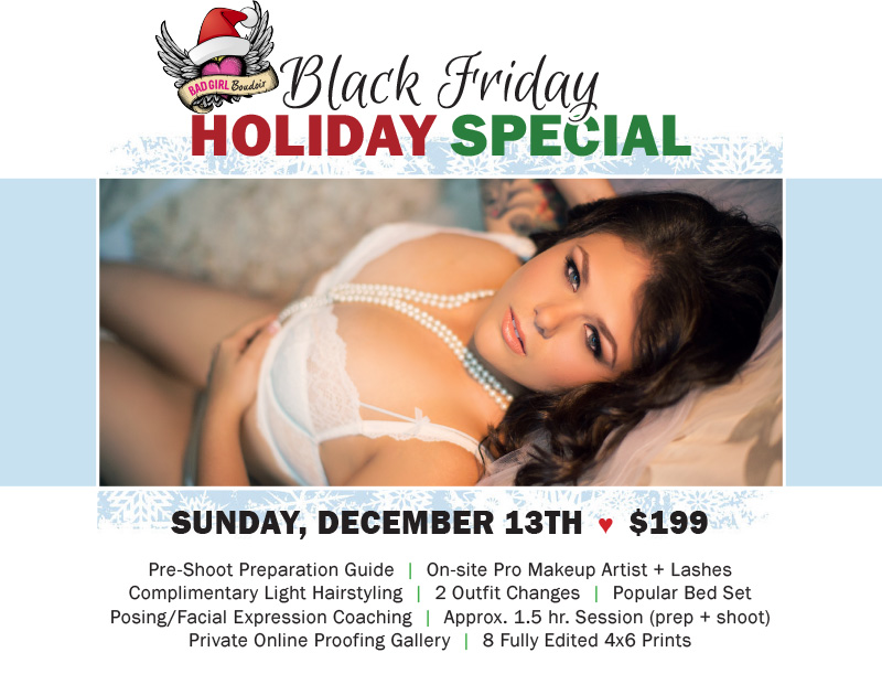 boudoir sale special discount affordable holiday christmas gift, jacksonville florida