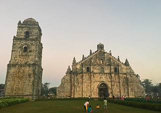 Ilocos Norte - Paoay Church day