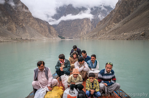 travel pakistan lake horizontal outdoors asia ship passenger pk hunza colorimage gilgitbaltistan hunzanagar gojallake attabadlake gojalvalley hunzaregion