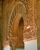 Carved stone monumental archway, c1350 - Alhambra Palace, Granada, Andalusia, España