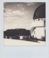 I'm going to start slowly sharing my Polaroids on social media. Just some landscape shots I dig. No portraits. This was from this past weekend in LA at the Griffith Park Observatory. As always, @impossible_hq keeping Polaroid alive. #Hollywood #polaroid #
