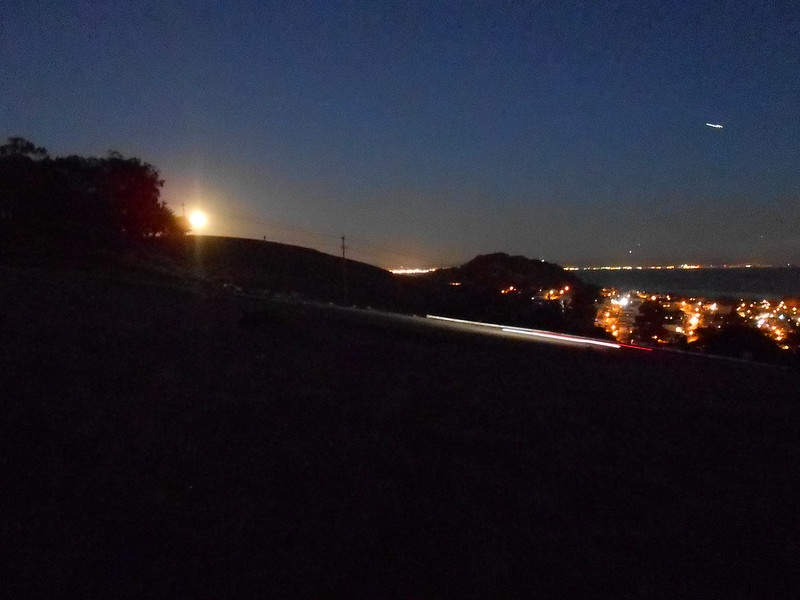 Sue Weaver - Moonrise from Wilde Overlook