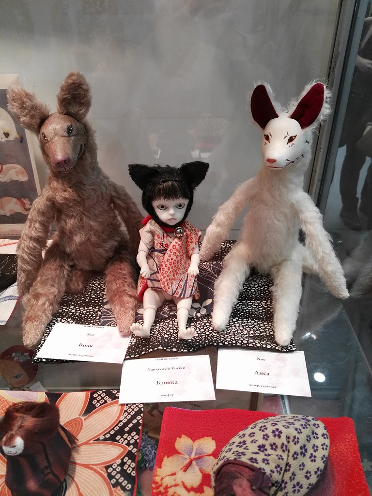 Japanese dolls from Team Koyaala @ HelloTeddy 2015