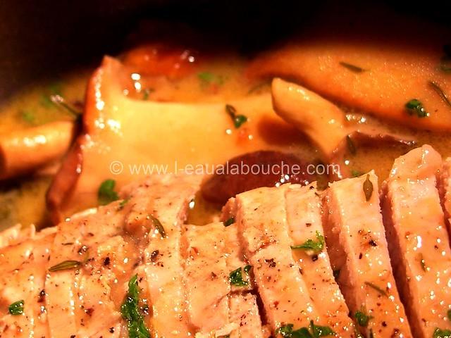 Rôti de Porc dans le  Cocotte  Champignons © Ana Luthi Tous droits réservés 007