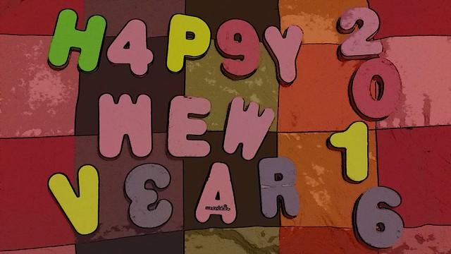 Happy New Year / Feliz Año Nuevo 2016