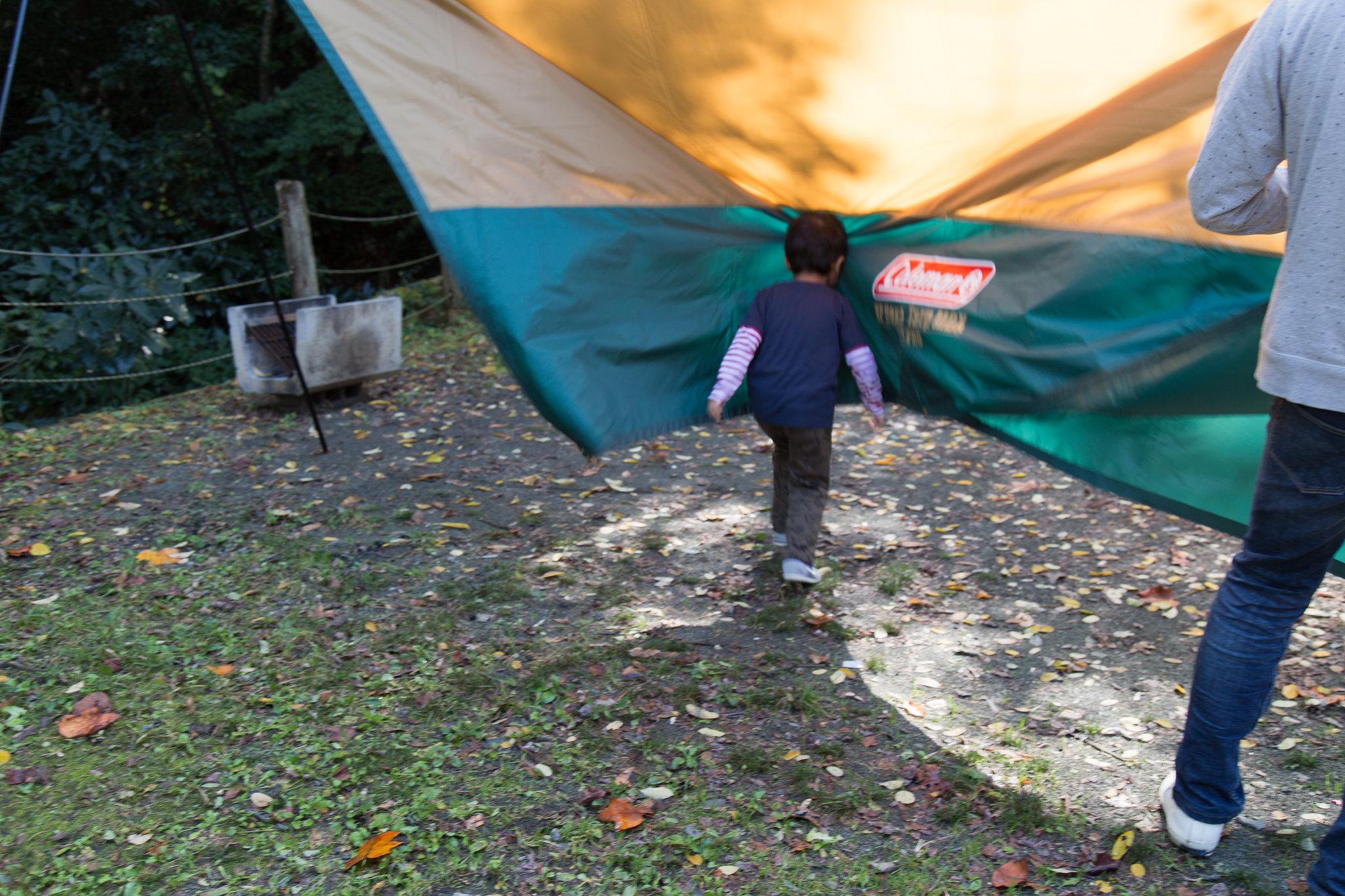 2014-10-25 あきる野 山田大橋キャンプ場一日目 049