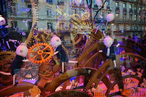 Christmas Windows ~ Paris 2015