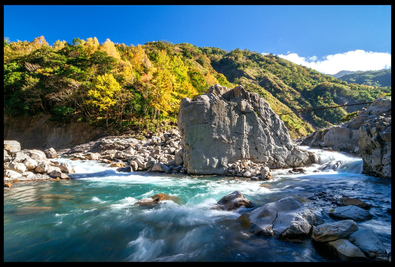 [一張流]新竹尖石秀巒楓之谷