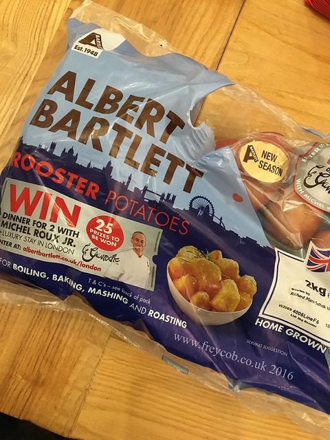 Cottage pie with Albert Bartlett potatoes