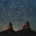 Star Trails over Trona Pinnacles  ...  explored by alicecahill