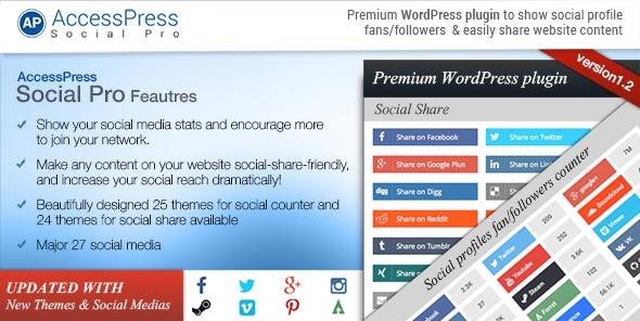 AccessPress Social Pro v1.3.1