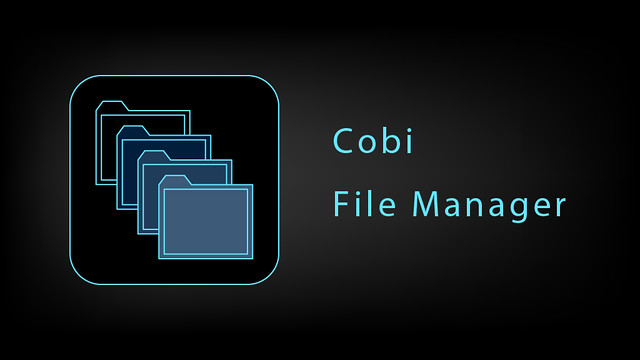 Cobi file manager