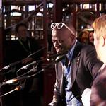 Alain Mabanckou & Etgar Keret | Alain Mabanckou & Etgar Keret discuss their memoirs in the Spiegeltent © Helen Jones