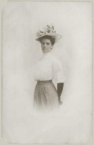 Woman on RPPC