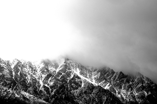 Snowy Remarkables BW 20 7 15 K55617
