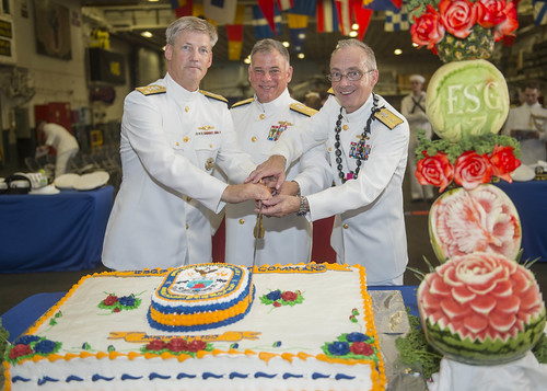 Amphibious Force 7th Fleet Holds Change of Command Ceremony