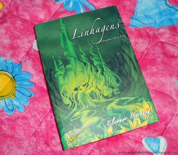 Resenha, livro, Linhagens, Eleonor Hertoz, capa