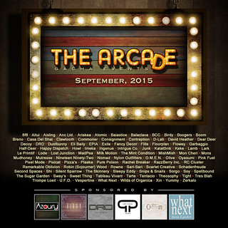 The Arcade - September 2015 Gacha Event Poster
