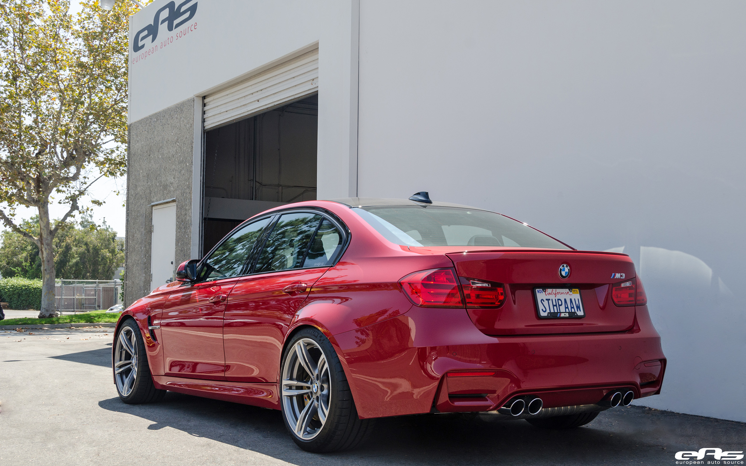 Imola Red F80 M3 | BMW Performance Parts & Services