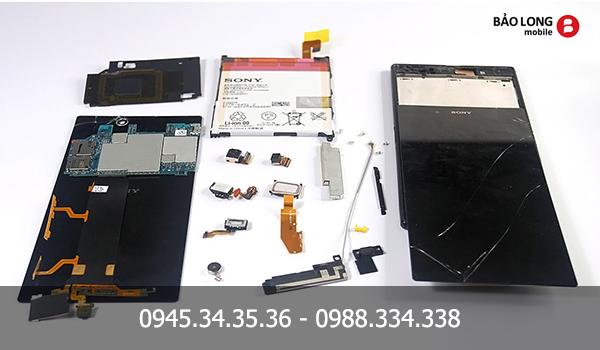 Thay, sửa màn hình mặt kính cảm ứng Sony Z/Z1/Z2/Z ultra/Z1s/Z3/Z4/ZL/M chính hãng tại HCM
