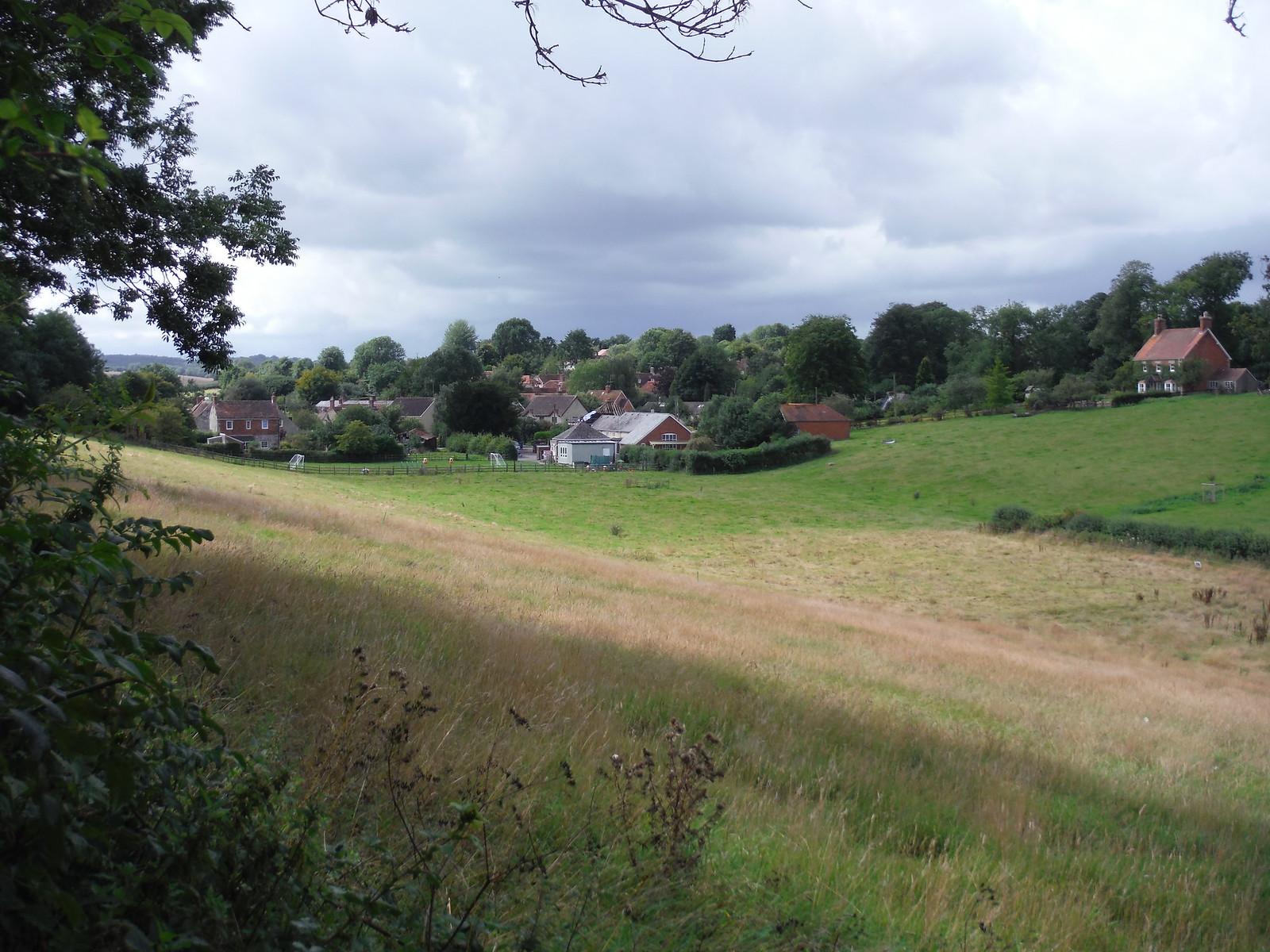 Grassy Valley near Hindon SWC Walk 248 Tisbury Circular via Hindon