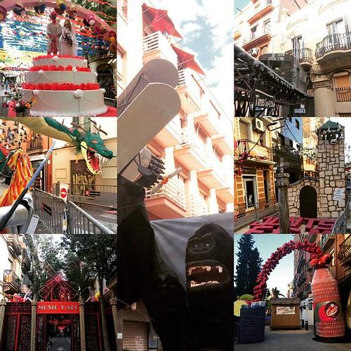 Decoració #FestaMajor @FMSants #FMSants #Sants #BCN #Barcelona