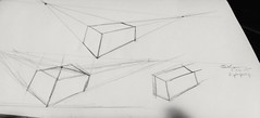 Two point perspective, first try #drawing meh