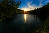 sunset at Fusine Lake - Italy by Lior. L