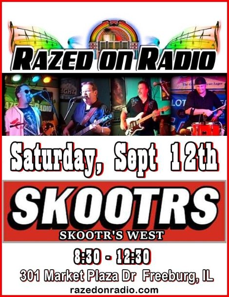 Razed On Radio 9-12-15