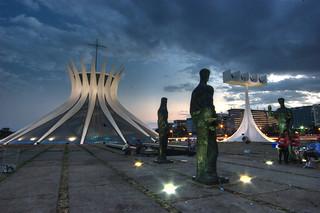 Brasilia Blue Hour