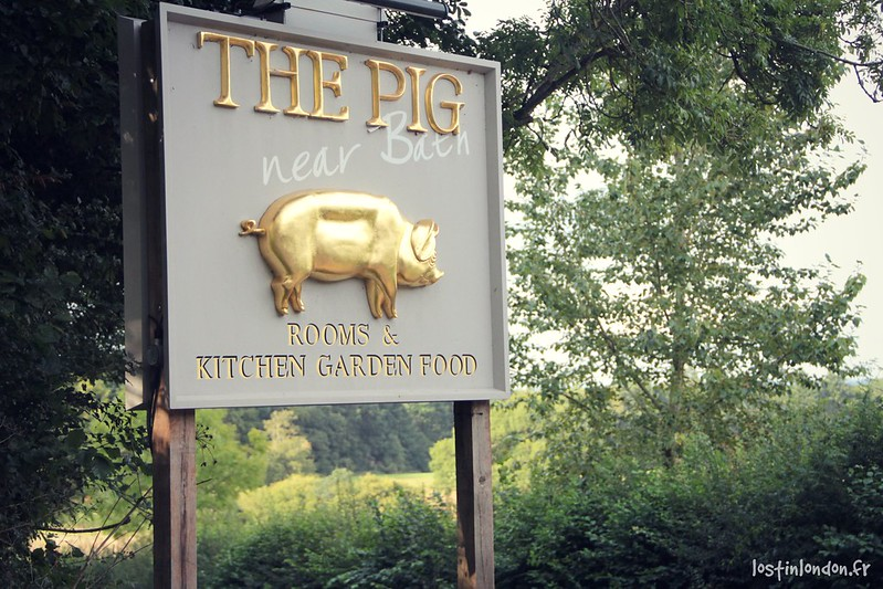 the pig near Bath