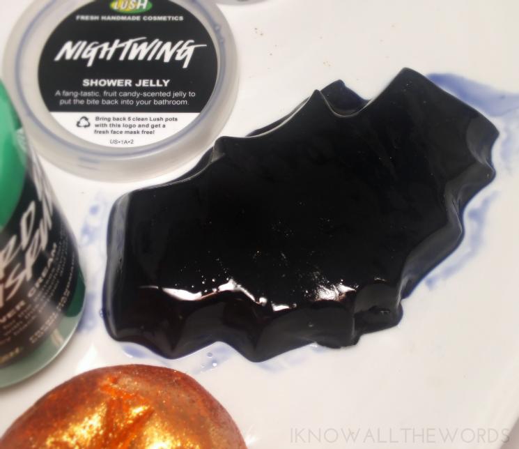 lush halloween 2015 nightwing showey jelly