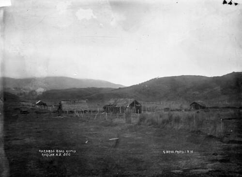 Dwellings on Hazards Road, Kopua, in the vicinity ...