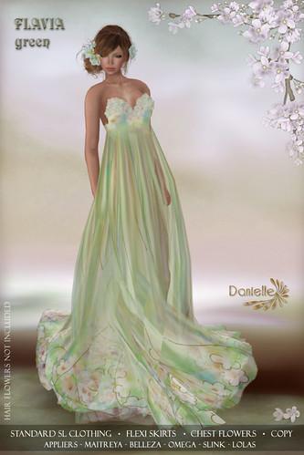 DANIELLE Flavia Green
